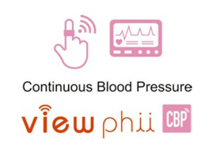 view phii continuous blood pressure